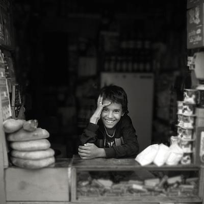 Shopkeeper ~ Taroudant, Morocco - 1986