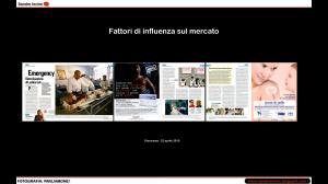 Un articolo di Panorama de 22 aprile 2010 portato ad esempio da Sandro Iovine nel corso del suo intervento.