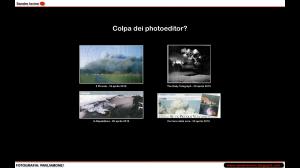 Un confronto parziale tra le immagini utilizzate dalla stampa italiana e da quella estera per illustrare l'eruzione del vulcano islandese Eyjafjallajökull